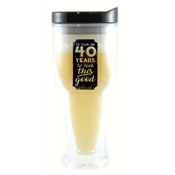 Blackfriars It Took Me 40 Years 10 oz. Beer Tumbler by Winston Porter