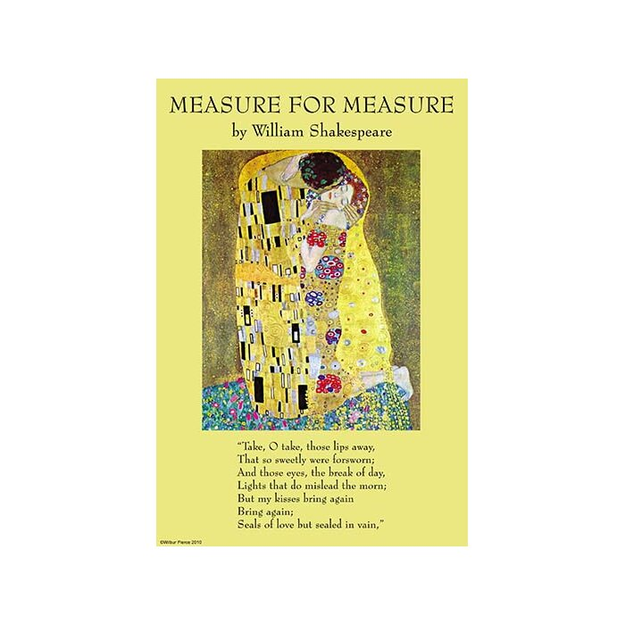 Buyenlarge \'Measure for Measure\' by William Shakespeare Vintage ...