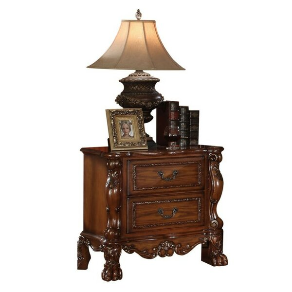 Washtenaw 2 Drawer Nightstand by Astoria Grand
