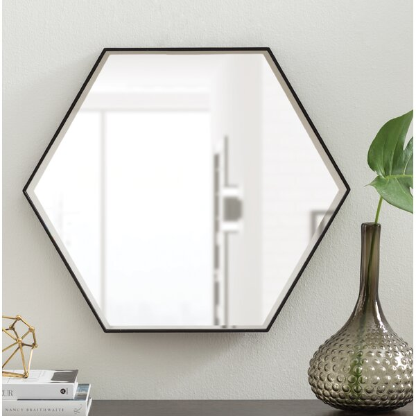 Mcnichols Wood Wall Mirror by Wrought Studio