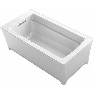 Deals Archer 62 x 32 Freestanding Soaking Bathtub ByKohler