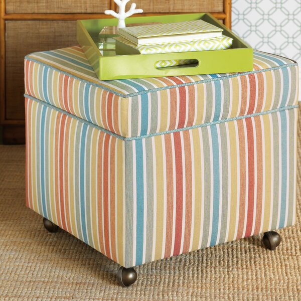 Capri Storage Ottoman by Eastern Accents Eastern Accents