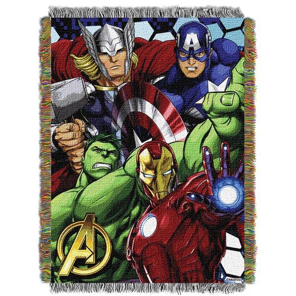 Marvel Avengers Best Team Throw by Northwest Co.