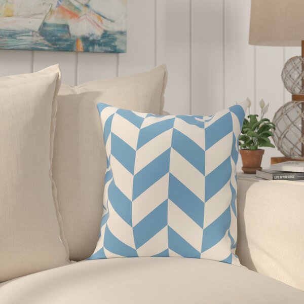 Kipling Geometric Print Outdoor Throw Pillow by Breakwater Bay