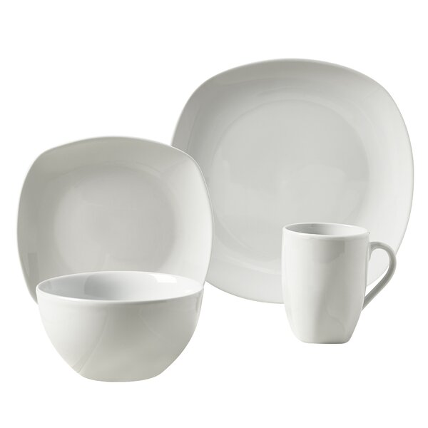 Logan 16 Piece Dinnerware Set, Service for 4 by Tabletops Gallery