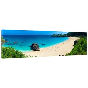 Waimea Bay Photographic Print on Wrapped Canvas by Colossal Images