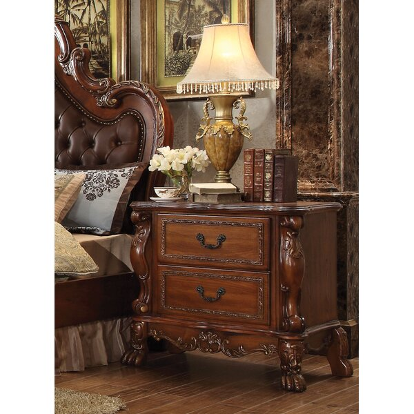 Rangely 2 Drawer Nightstand by Astoria Grand