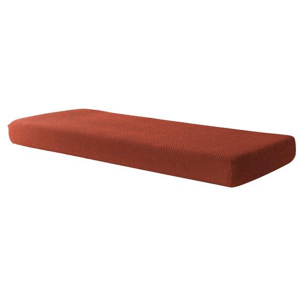 Compare Price Isha Removable Jacquard Stretch Box Cushion Loveseat Slipcover