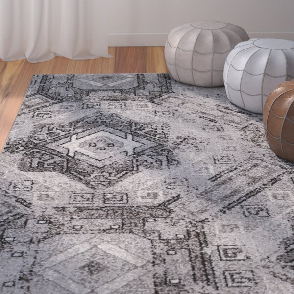 Edgware Gray Area Rug by Bungalow Rose