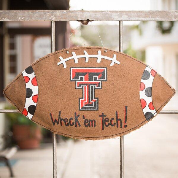 Texas Tech Football Burlee Garden Sign by Glory Haus