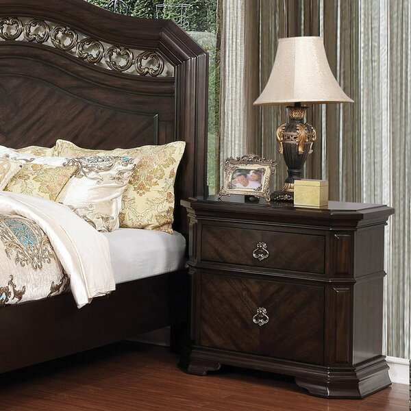 Alberts 2 Drawer Nightstand by Darby Home Co