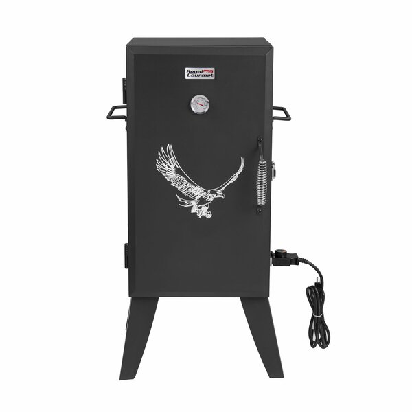 Adjustable Temperature Control Electric Smoker by Royal Gourmet Corp