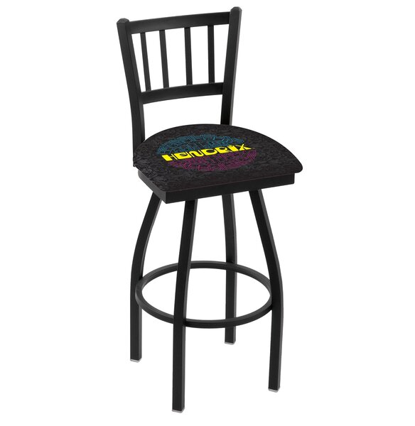 Jimi Hendrix 30 Swivel Bar Stool by Holland Bar Stool