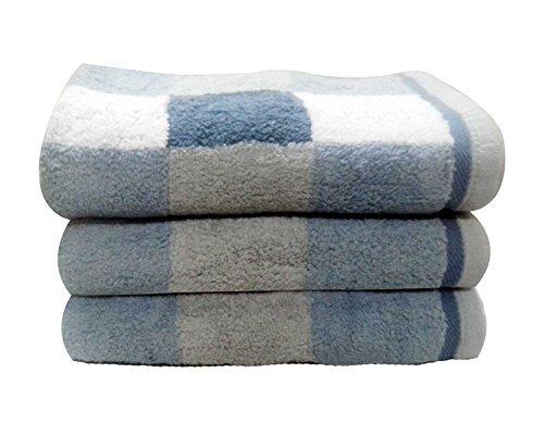 Moro Block Bath Towel (Set of 3) by Charlton Home