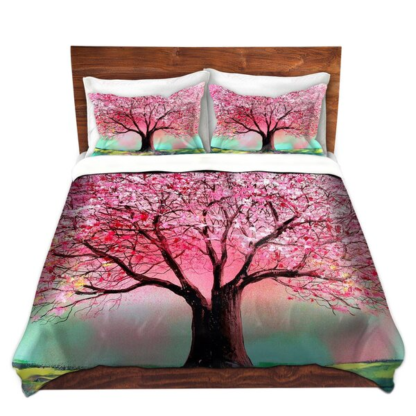 Marcial Aja Ann Story of the Tree lxxiv Microfiber Duvet Covers by Red Barrel Studio