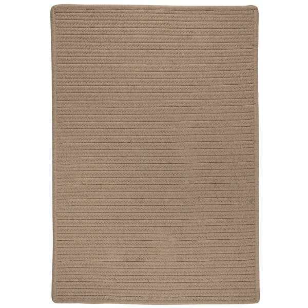 Oakland Hand-Woven Brown Indoor/Outdoor Area Rug by Darby Home Co