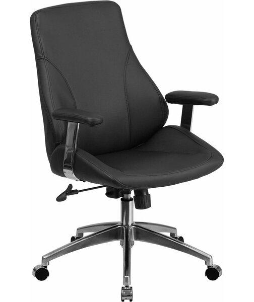 Mccrea Mid-Back Ergonomic Executive Chair by Latitude Run