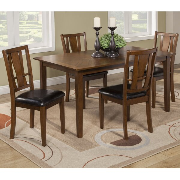 Geissler 5 Piece Dining Set by Red Barrel Studio