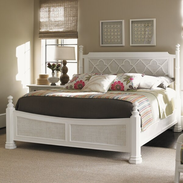 Ivory Key Canopy Bed by Tommy Bahama Home