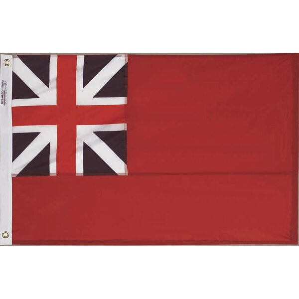 Nylon British Red Ensign Traditional Flag by Annin Flagmakers