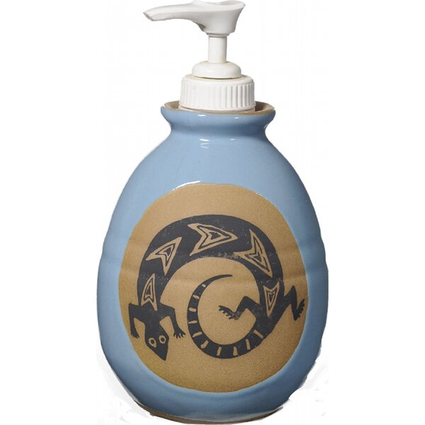 Gecko Soap Dispenser by Always Azul Pottery