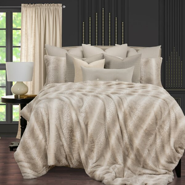 Night On The Town Fabulous Faux Fur Supreme Duvet Cover and Insert Set