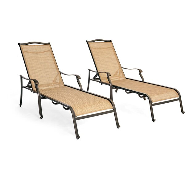 Carlee Chaise Lounge Set (Set of 2)