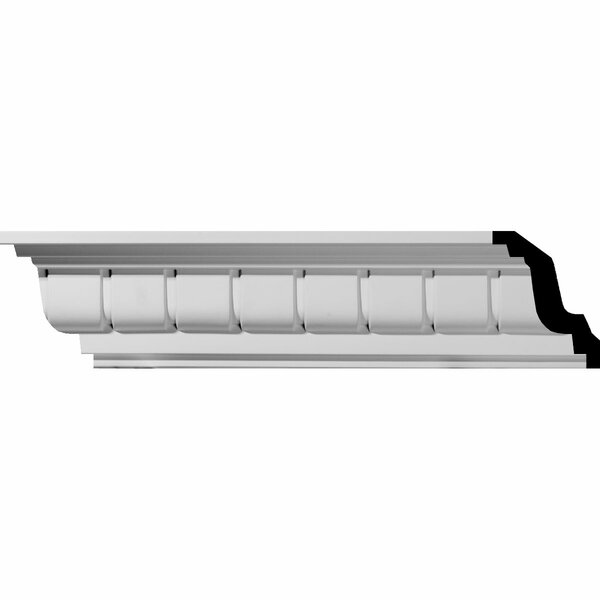 Eris Dentil 4 1/4H x 94 1/2W x 4 1/8D Crown Moulding by Ekena Millwork