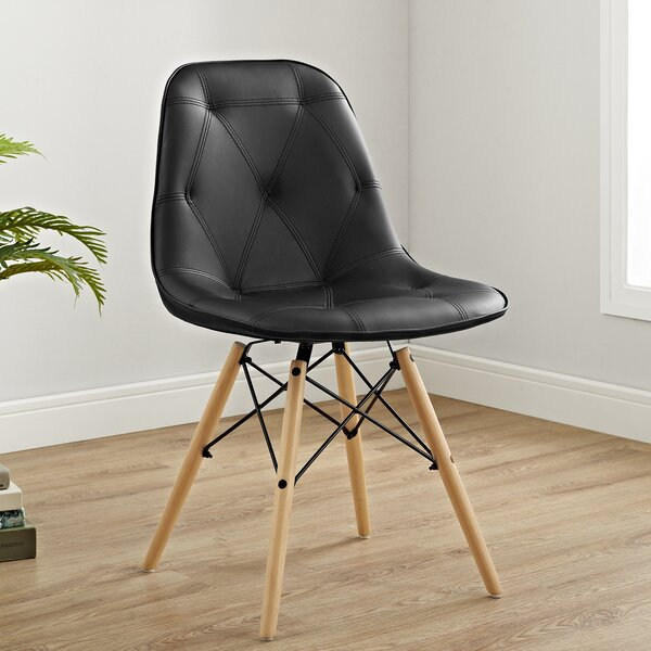 Rawley Upholstered Dining Chair (Set of 2) by Wrought Studio