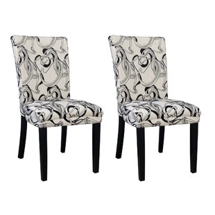 Price comparison Misty Parson Chair (Set of 2) ByChintaly Imports