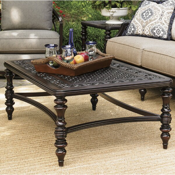 Royal Kahala Metal Coffee Table by Tommy Bahama Outdoor