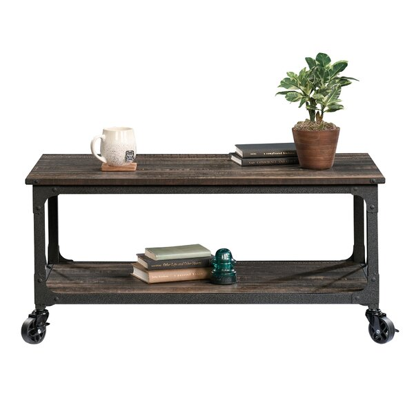 Ulibarri Coffee Table with Tray Top by Williston Forge