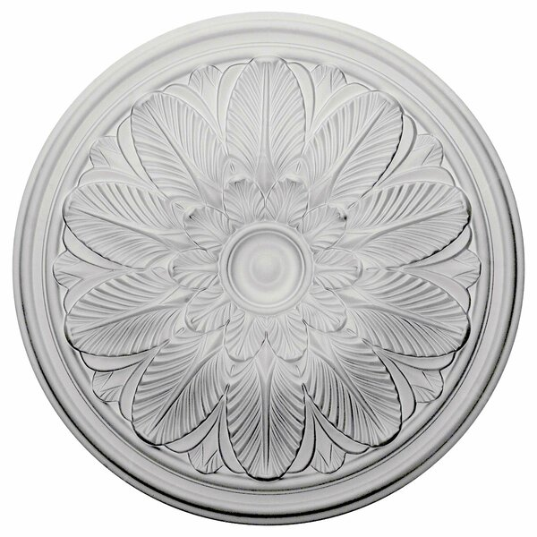 Bordeaux 22 5/8H x 22 5/8W x 1 3/4D Ceiling Medallion by Ekena Millwork
