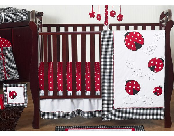 Ladybug 11 Piece Crib Bedding Set by Sweet Jojo Designs