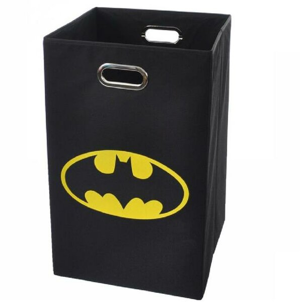Batman Logo Folding Laundry Hamper by Modern Littles