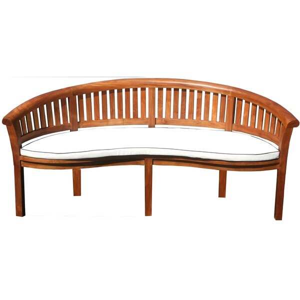 Peanut Indoor/Outdoor Bench Cushion by Chic Teak