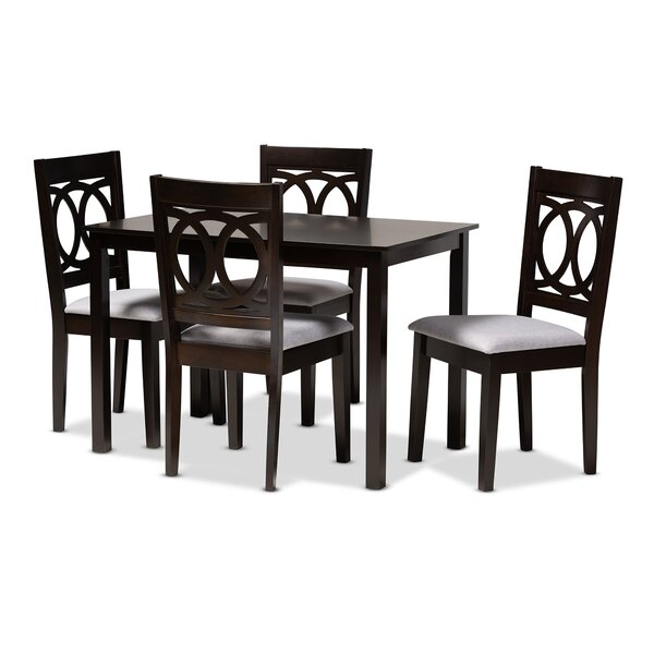 Bothell 5 Piece Dining Set by Canora Grey
