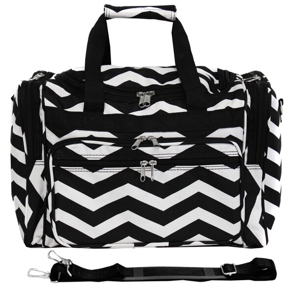 Chevron 16 Shoulder Duffel by World Traveler