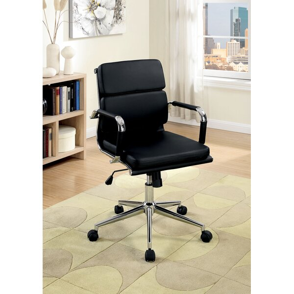 Gwyneth Low Back Office Chair by Ebern Designs