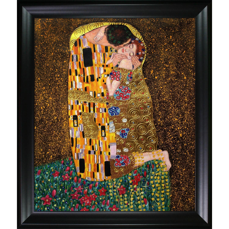 Tori Home The Kiss by Gustav Klimt Framed Painting   Wayfair