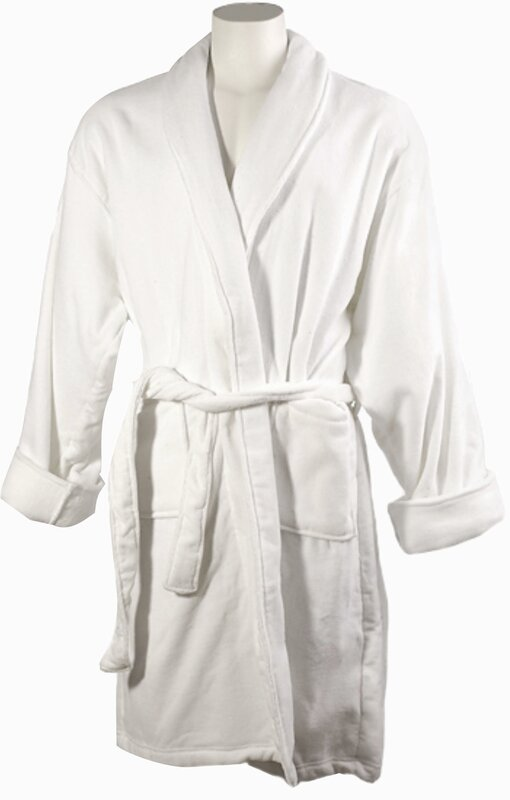 LCM Home Fashions, Inc. Men\'s Cotton Terrycloth Bath Robe & Reviews ...