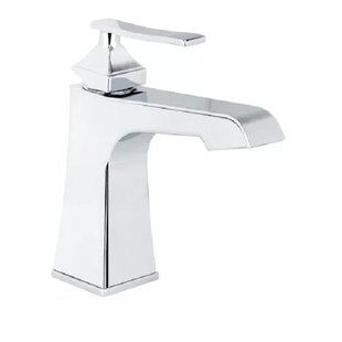 Affordable Elysa Single Hole Bathroom Faucet with Push-Pop Drain Assembly By Miseno