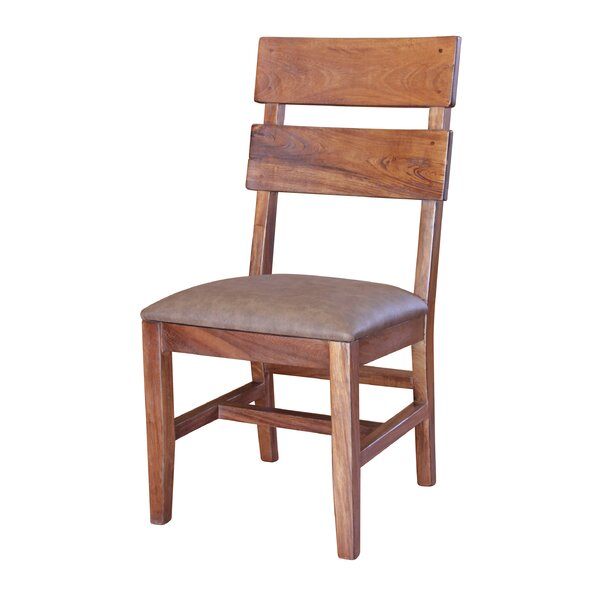 Stockwell Solid Wood Dining Chair by Millwood Pines