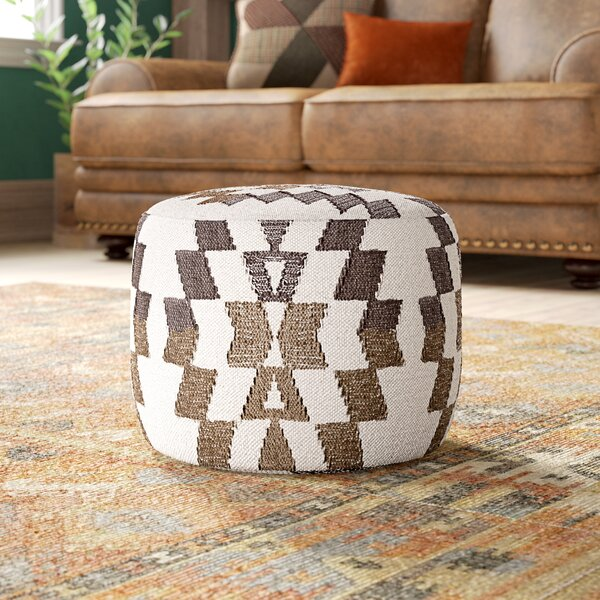 Branden Upholstered Pouf By Langley Street Fresh