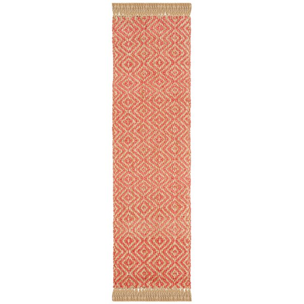 Lana Hand Woven Fuchsia Area Rug By Bungalow Rose.