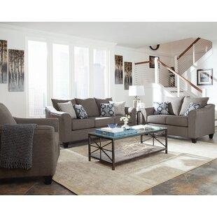 Grigorijs 3 Piece Living Room Set by Latitude Run®