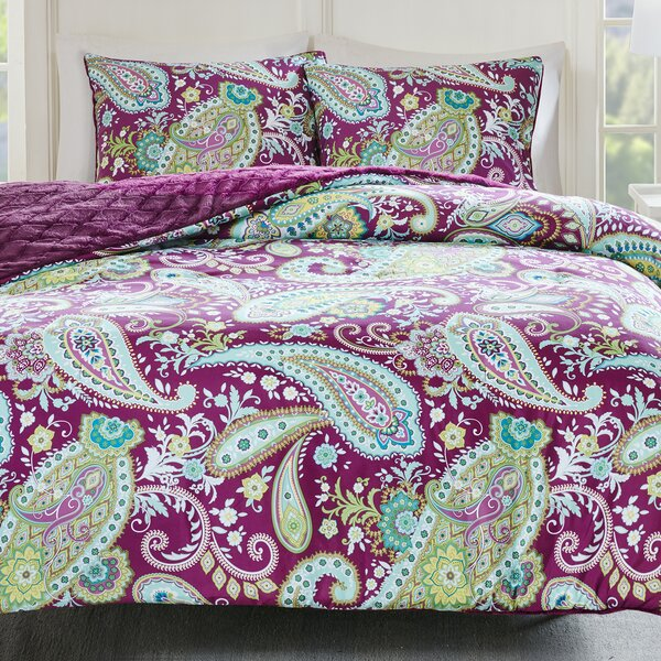 Cairns Reversible Comforter Set by Bloomsbury Market