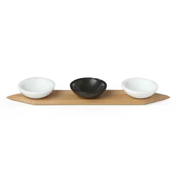 Platform Wood Serving Tray by Lenox