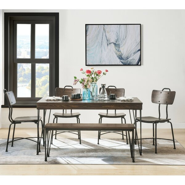 Chenut Dining Table by Williston Forge Williston Forge