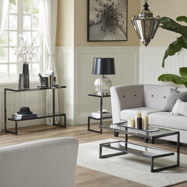 Boyd 3 Piece Coffee Table Set by Madison Park Signature Madison Park Signature